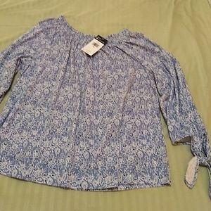 CHAPS Spring Blouse